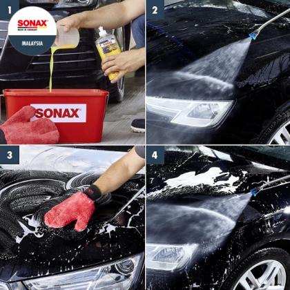 SONAX Wash+Wax 1 Litre