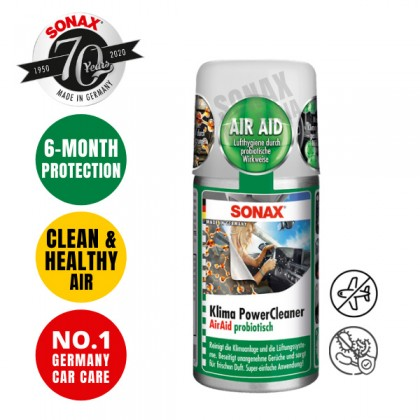 SONAX AirAid Probiotic A/C Cleaner 100ml