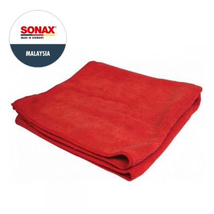 SONAX Microfibre Cloth Exterior Red