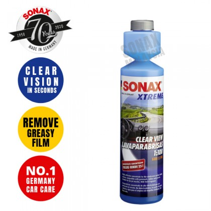 SONAX XTREME Clearview 1:100 Concentrate 250ml