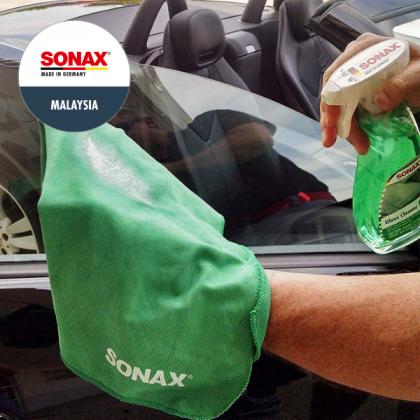 SONAX Microfibre Cloth Interior Green (Streak Free)