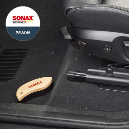 SONAX Leather+Textile Brush (Soft Nylon)