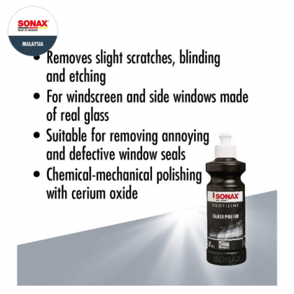 SONAX Profiline Glass Polish (250ml)