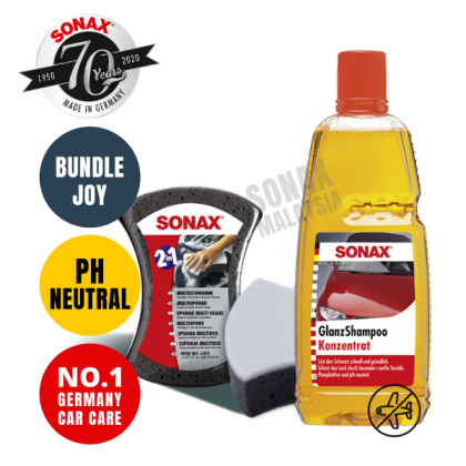 (Bundle Saves More) Gloss Shampoo + Multi Sponge