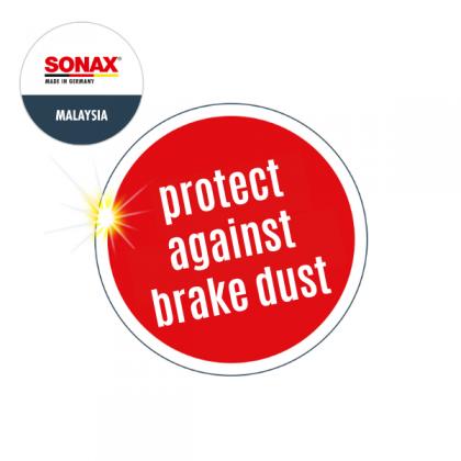 SONAX pH Neutral Wheel Rim Cleaner and Wheel Coating Set