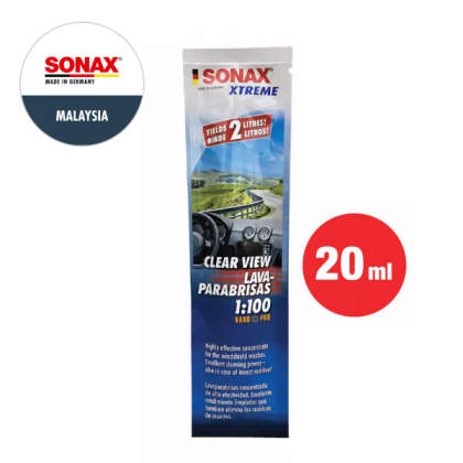 SONAX Xtreme Clearview 1:100 Concentrate NanoPro (20ml)